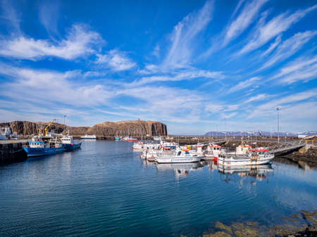 Harbour at Stykkisholmur, West Iceland