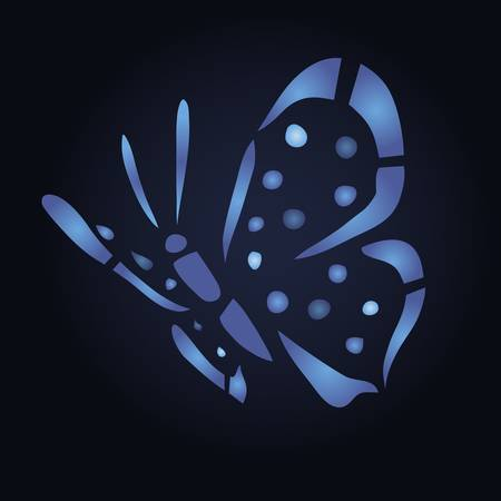 colorful butterfly vector illustration for your design Illustration