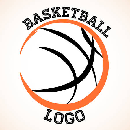 basket ball:  basketball team on white background