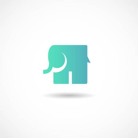 Vector illustration of an Elephant