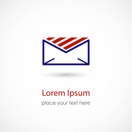 Vector illustration of an Envelope Icon