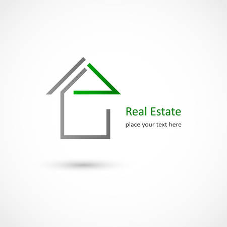 Vector illustration of a Real Estate Vector illustration Illustration