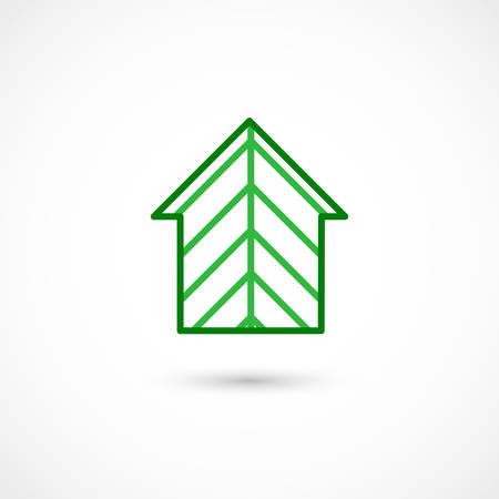 Vector illustration of a Forest house Illustration