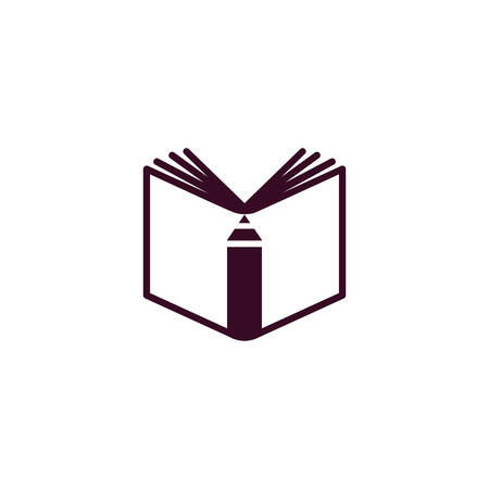 Vector illustration of a Book Icon