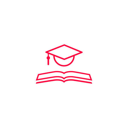 Vector illustration of an Education Icon