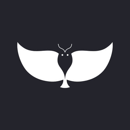 Vector illustration of an Owl Icon