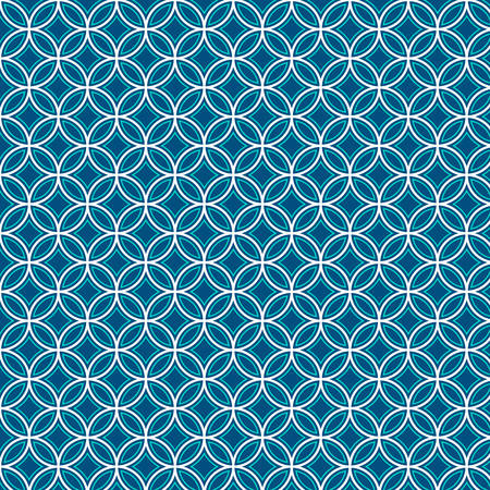 Vector illustration of a Geometric abstract pattern