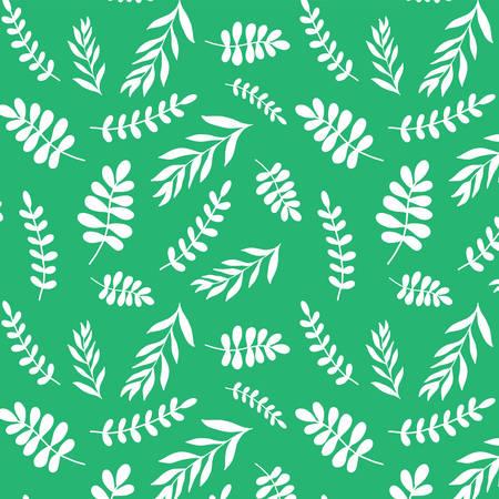 Vintage tropic pattern design. Cool floral wallpaper