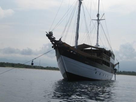 Schooner - An old wooden schooner photo