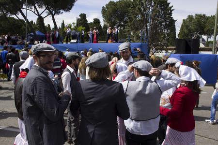 isidro: May 2013, Verbena de San Isidro, Madrid