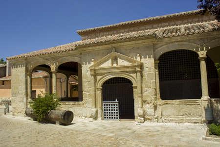 edificación: Jule 2013, St Peters Church, Torremocha del Jarama - Madrid Foto de archivo