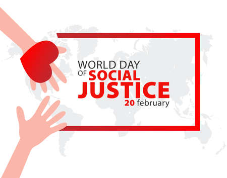 World Day of Social Justice on February 20 Background.