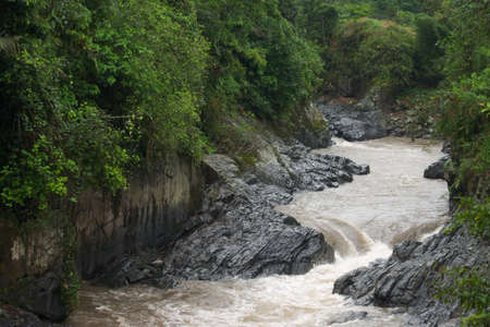 River through Ecuador