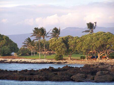 Big Island, Hawaii, Kona coast Imagens