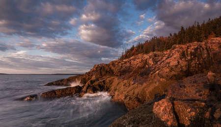Sunrise in Acadia National Park, Maine