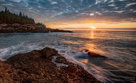 Sunrise in Acadia National Park Maine
