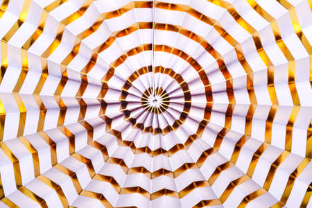 White Paper gold striped Decor. Festive abstract Stock fotó
