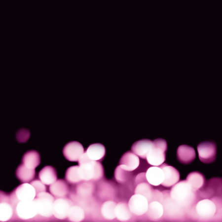 Abstract festive  with falling purple bokeh lights. Holiday concept. Reklamní fotografie