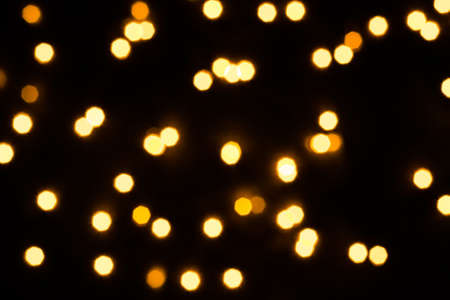 Abstract festive  with scattered lights. Holiday concept.