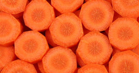 Carrot Pieces - a Food Background photo