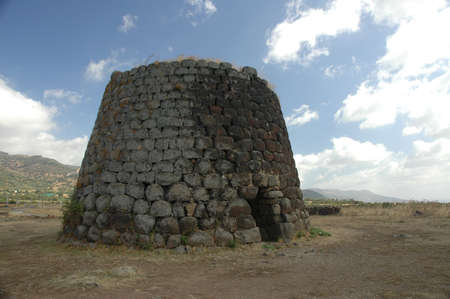 Ancient Sardinian Nuraghe  fortified tower Stock Photo - 13019892