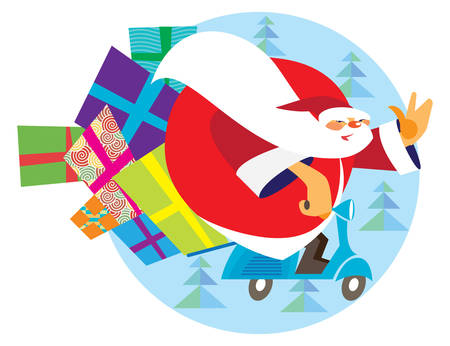 Babbo natale is santa claus from italy