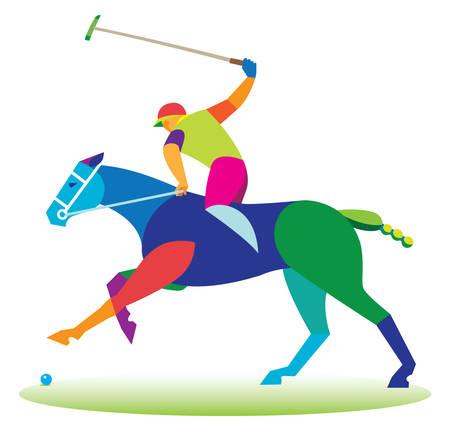 polo player: Polo horse game