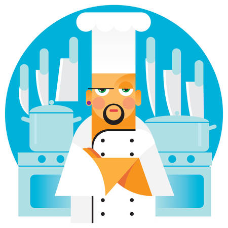 roaster: man is chef