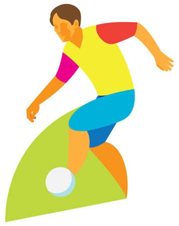 dribbling: Football dribbling