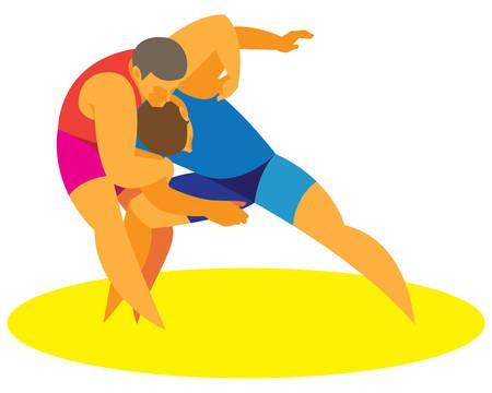 wrestling greek-roman