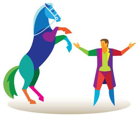 Pferdezirkus