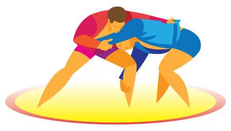 sambo wrestlers