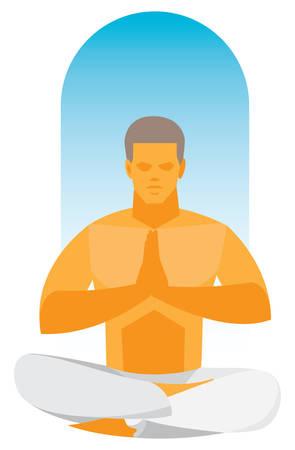 Yoga Ilustrace