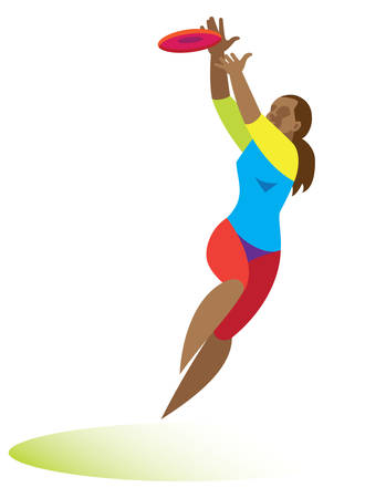 Ultimate.woman jumping