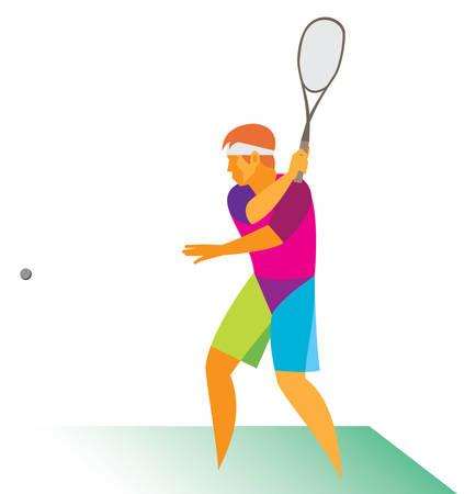 Man.Squash.Player