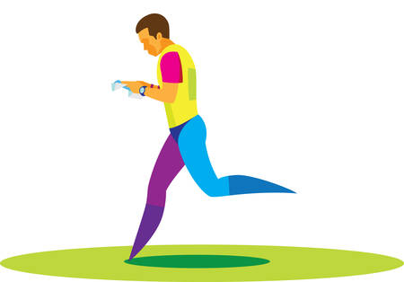 The young athlete participates in competitions in orienteering
