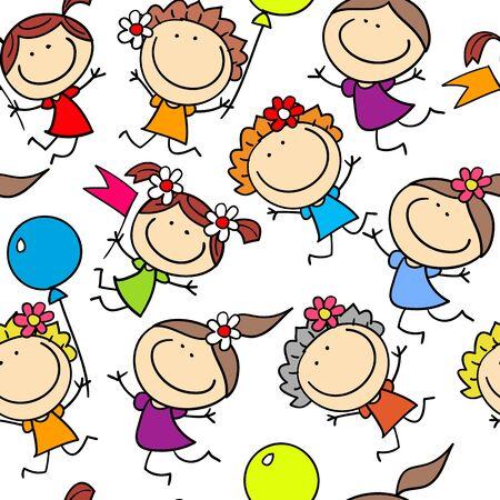 cheerful: background cheerful children