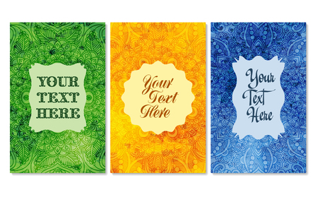 business it: Business cards with watercolor background. Design element. It can also be used for greeting cards, banners, invitations. Vector background Illustration