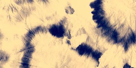 Schmutzige Kunstfarbe der Wolke. Acryl-Grafik. Tie Dye Shibori. Weißer Aquarell-Druck. Himmel künstlerische schmutzige Leinwand. Schwarze Shibori-Textur. Ozean-Pinsel-Malerei. Marine gebürstete Graffiti.