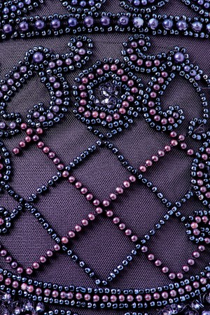 Fabric with sequins and sequins of bright colors. Fashion glitter fabric, sequins. can be used as background