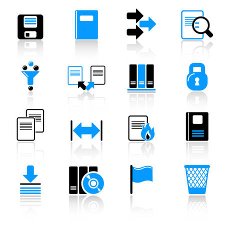 Computer icons Stock Vector - 5249167
