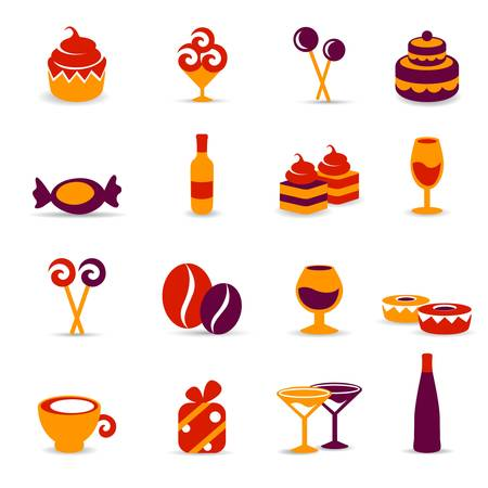 sweet food  icons