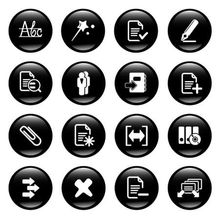computer icons Stock Photo - 6836491