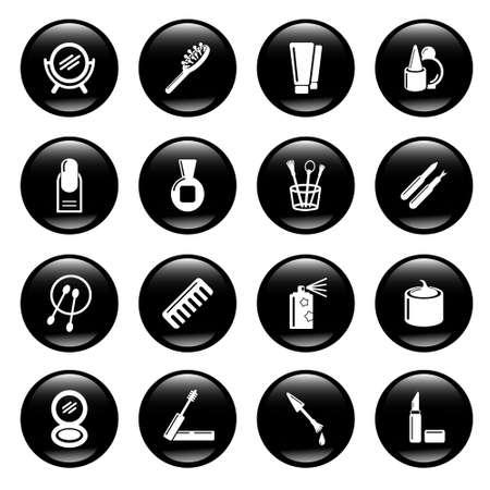 cosmetic icons Stock Photo - 6836493