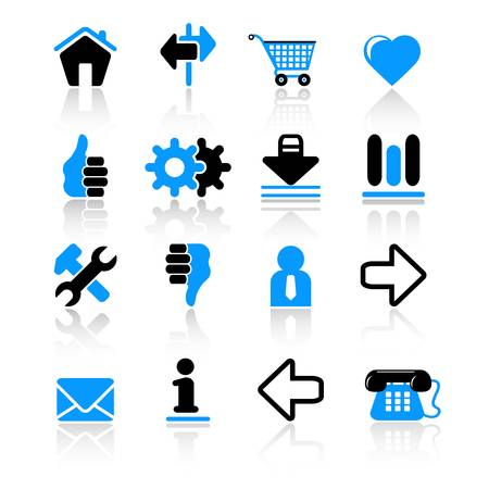 Web icons Stock Vector - 10092564