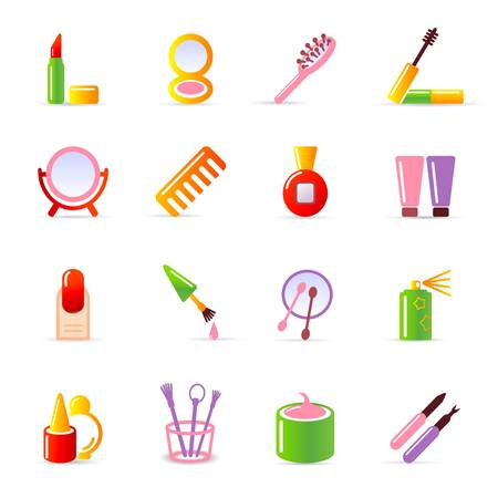cosmetic icons Stock Vector - 11454000