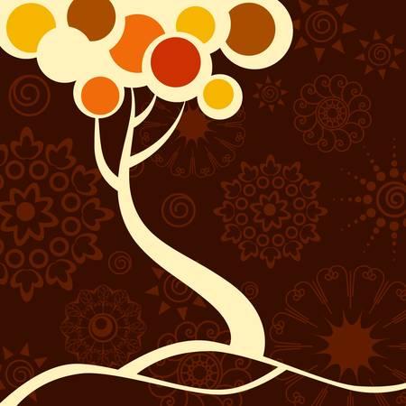 autumn tree  Stock Vector - 11454049