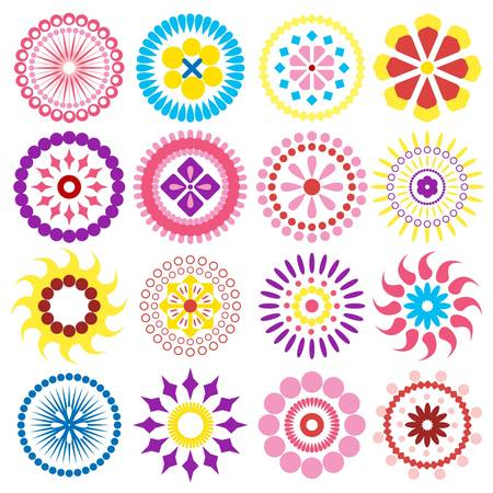 flowers icons Stock Vector - 11864311