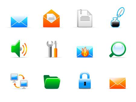 office icons Stock Vector - 11864302
