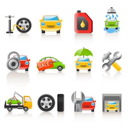 Auto Service iconen